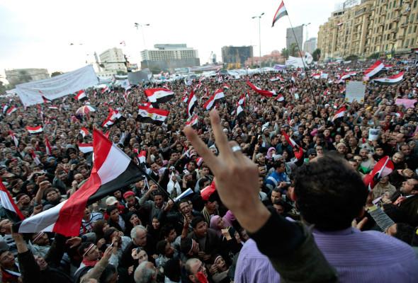 Tahir-plassen i 2011. Kilde: The Atlantic